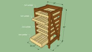 how to build food storage shelves howtospecialist how to build
