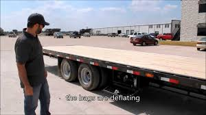 100 Hot Shot Trucking Companies Hiring Gooseneck Trailer With Air Suspension By PJ Trailers YouTube