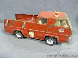 Lot: Vintage Tonka Fire Truck Is In Overall Good Shape, 17