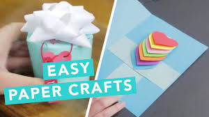 Easy Paper Crafts For Beginners
