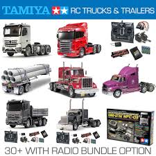 TAMIYA RC Trucks, Trailers And Radio Bundles - Choose | EBay Truck Trailer Toy First Gear Peterbilt 351 Day Cab With Dual Dump Trailers Farmer Farm Tractor And Kids Set Onle4bargains 164 Scale Model Truckisuzu Metal Diecast Trucks Semi Hauler Kenworth And Mack Unboxing Big 116 367 W Lowboy By Horse Hay Biguntryfarmtoyscom Bayer Equipment Custom Bodies Boxes Beds Amazoncom Daron Ups Die Cast 2 Toys Games A Camping Pickup
