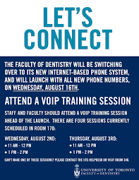 VoIP Training Session | Faculty Of Dentistry, University Of Toronto Business Computer Support Birmingham Al Redwave Technology Group Configuring Voip Phones In Cisco Packet Tracer Youtube Allworx Voip Traing Conference Room Setup Tampa Video 1 Cloud System Perpetual Solutions Google Voicexpert Linkedin Cporate Techelium Setting Up Voip Traing 71 3cx Basic 31 Providers Sip Trunks Online Course Speed Dialing Virtual Pbx Free