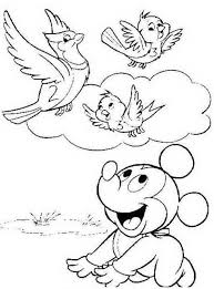 Hello Kitty Free Birds Coloring Pages