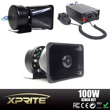 Xprite 100W 12V Car Truck Alarm Police Fire Loud Speaker PA Siren ... 12v Loud Horn Car Van Truck 7 Sound Tone Speaker With Pa System Mic Lm Cases Products Hot 80w 5 Siren 12v Warning Megaphone Soroko Trading Ltd Smart Gadgets Electronics Spy Hidden Mese 12 Inch Professional Trolley S 12d With New 115db Air For Boat Sounds Pa Best 2017 Wolo 4000 Alert Northern Tool Equipment Optimum Cable Service In Brooklyn Editorial Image Of How To Wire A Truck Youtube 100w Auto Max 300db