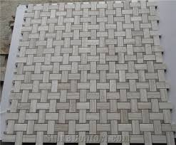 white building material mosaic flooring tile timber white