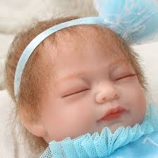 NPK 10 Inch 26cm Newborns Reborn Baby Soft Silicone Doll Handmade