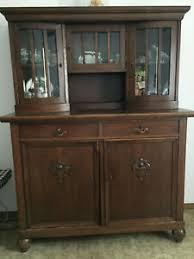 details zu wohnzimmerschrank antik ca 1930
