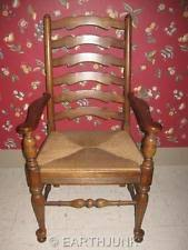 Used Ethan Allen Wingback Chairs by Ethan Allen Ladderback Chairs Ebay