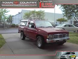 1991 Red Pearl Metallic Nissan Hardbody Truck Regular Cab #28937044 ...