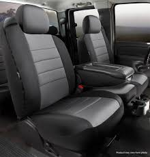 100 Neoprene Truck Seat Covers Neo Custom Fit Fia NP9817GRAY Titan