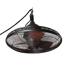 shop allen roth valdosta 20 in oil rubbed bronze indoor outdoor
