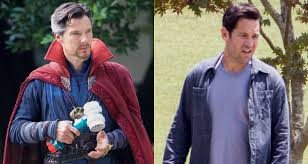 Paul Stephen Rudd Halloween 6 by Benedict Cumberbatch Hammers Things Out With Paul Rudd For