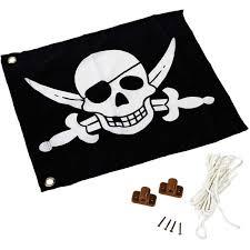 Drapeau Pirates Avec Système Dhisse Products Drapeau