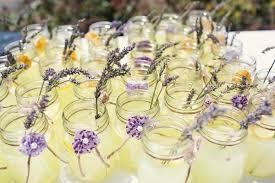 Mason Jar Drinks Wedding Idea