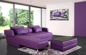 canape convertible violet canapé d angle en cuir violet réversible et convertible largo