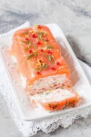 cuisine entr馥s froides terrine au saumon et crevettes recette entree de fete terrine
