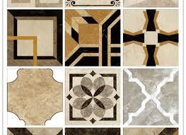 Italian Waterjet Beige Stone Polished Marble Pattern Floor