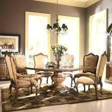 Fancy Dining Room Furniture Elegant Table Set Round