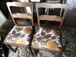 50er jahre polster stühle küchen esszimmer stühle gepolstert