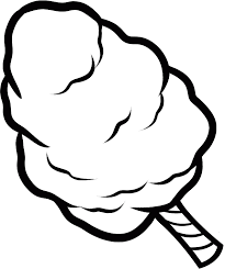 Pin Candy Clipart Coloring Page 5