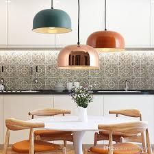 großhandel nordic moderne kreative metall lamsphade pendelleuchte esszimmer bar leuchte wohnzimmer pendelleuchte lightfixture 86 1 auf