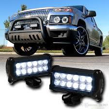 best 7 36w cree led work light bar l 2800lm car tractor boat