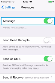 Can t send or receive messages without internet on iPhone