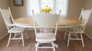 Oak Extending Round Dining Table 4 Chairs In BR8 Sevenoaks ...
