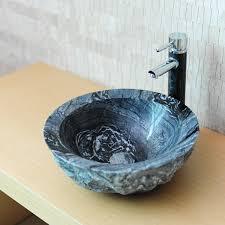 vasque en ronde wasa marbre gris indoor by