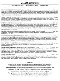 Hospital Volunteer Resume Example Examples Rh Com Of For Position