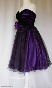 purple and black short dress naf dresses