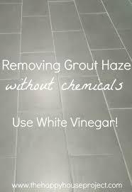 grout remover use white vinegar