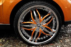 DIABLO® ANGEL Wheels - Chrome With Inserts Rims