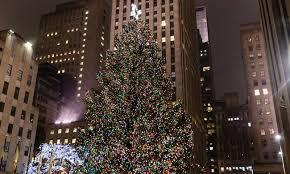Christmas Tree Rockefeller Center 2016 by Weihnachtlich Der Weihnachtsbaum Am Rockefeller Center