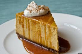 Pumpkin Pie With Gingersnap Crust by Pumpkin Cheesecake With Gingersnap Crust And Caramel Sauce Huffpost
