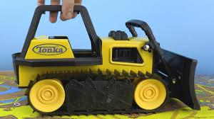 Tonka Classics Steel Bulldozer Unboxing 🚚🚛 Construction Truck Toys ...