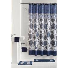 Mickey Mouse Bathroom Sets At Walmart by Appealing Bathroom Shower Curtain And Rug Sets Blue Brown Bath Set