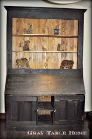 Secretary Desk With Hutch Plans by Ana White The Shou Suga Ban Secretary Desk And Hutch Diy Projects