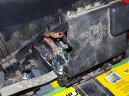 boitier fusible golf 4 fondu volkswagen mécanique