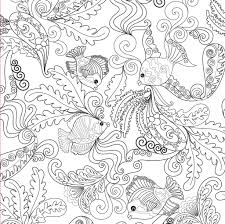 Stress Relieving Coloring Book Colouring Pages