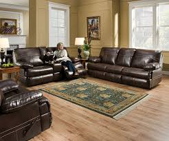 Leather Sectional Living Room Ideas by Living Room Damacio Dark Brown Leather Sectional With Leather