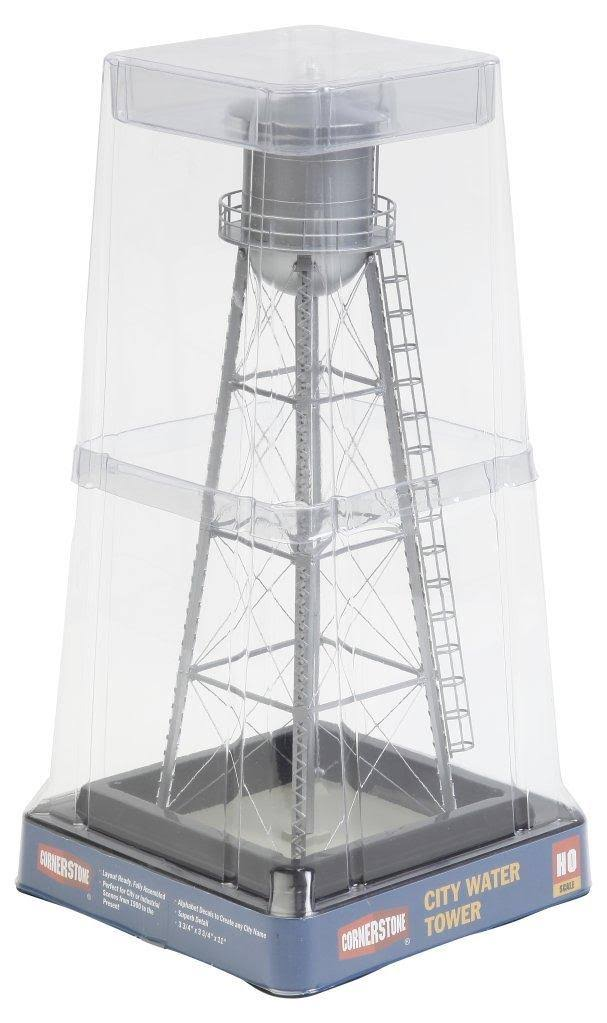 Walthers Cornerstone Series Built-ups HO Scale City Water Tower Silver