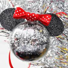 Minnie Mouse Christmas Tree Ornaments