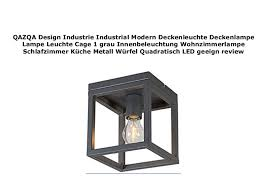 qazqa design industrie industrial modern deckenleuchte