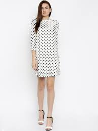 polka dots dresses buy polka dots dresses online in india myntra