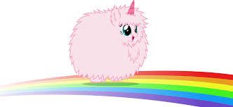 Rainbow Dash Pink Fluffy Unicorn