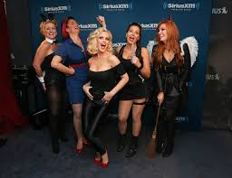 Sirius Xm Halloween Radio Station 2014 by Lynne Koplitz And April Macie Photos Photos Jenny Mccarthy Hosts