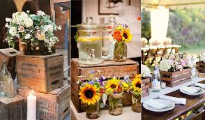 We Love The Ideas Of Using Wooden Crates To Style Barn Farm Vintage Or Other Rustic Weddings So Today I Have Rounded Up A Few Different Ways That You