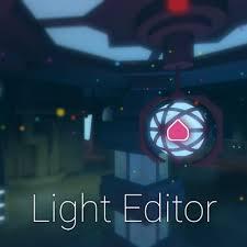 Light Editor Roblox
