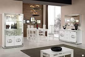 ligne goccia weiß und silber für esszimmer design set mit